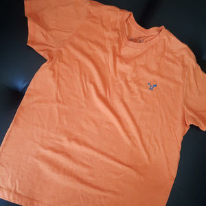 mens orange tee